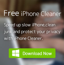 Free iPhone Cleaner