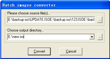 Free ISO Converter - How do I batch convert ISO image files with