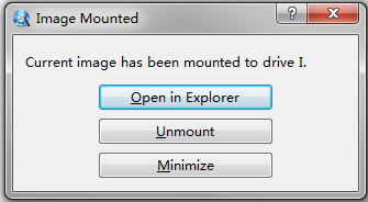 How do I mount iso image file in Windows 7?